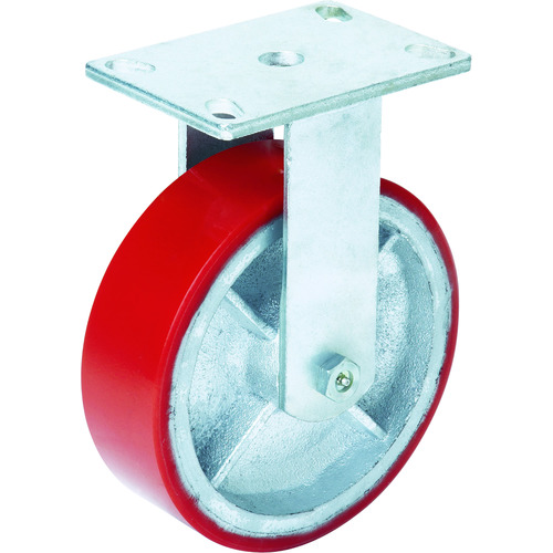 OH スーパーストロングキャスターHシリーズ超重荷重用 ウレタン車 車輪径150mm [H34FU-150] H34FU150 販売単位:1 送料無料