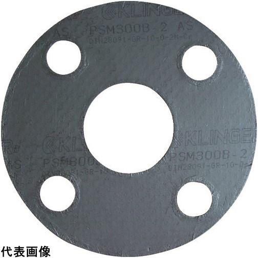 クリンガー 膨張黒鉛ガスケット(ステンレス爪付鋼板入り) 5枚入り [PSM-10K-80A] PSM10K80A 販売単位:1 送料無料