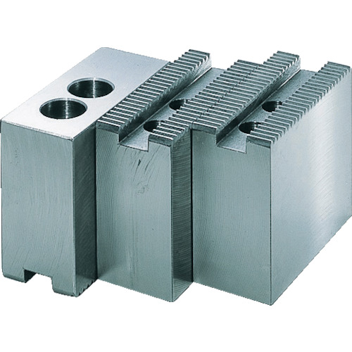 TRUSCO トラスコ中山 高爪日鋼用 チャック10インチ H60mm [HNK-10-60] HNK1060 販売単位:1 送料無料