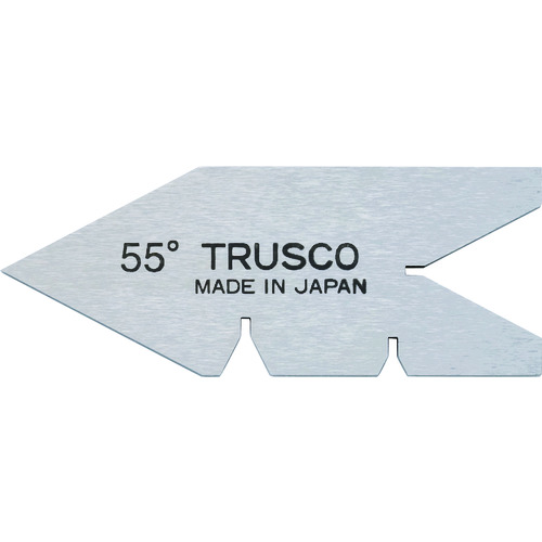 TRUSCO トラスコ中山 センターゲージ 焼入品 測定範囲55° [55-Y] 55Y 販売単位:1 送料無料