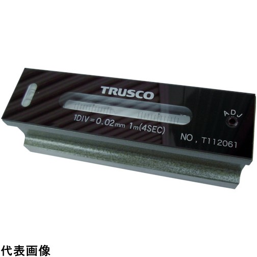 TRUSCO トラスコ中山 平形精密水準器 B級 寸法200 感度0.05 [TFL-B2005] TFLB2005 販売単位:1 送料無料