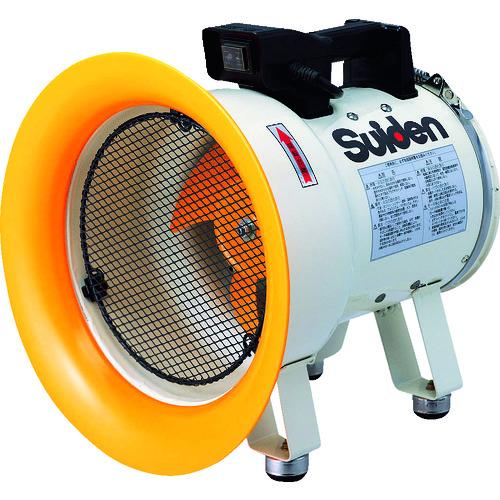 スイデン 送風機(軸流ファン)ハネ200mm単相100V低騒音省エネ [SJF-200L-1] SJF200L1 販売単位:1 送料無料