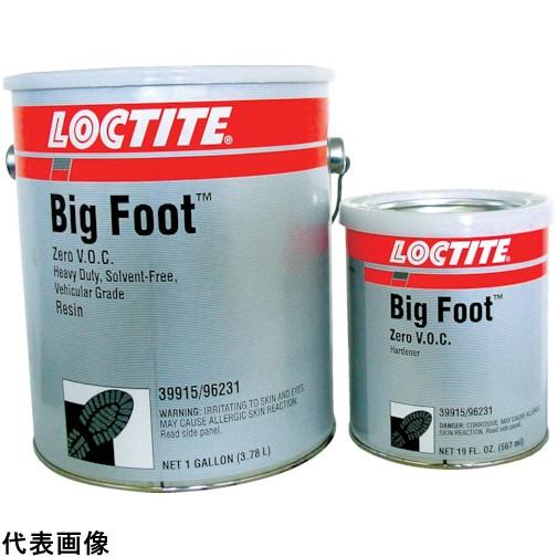 ロックタイト ビッグフット ZV 低臭気 黒 2KG [BF-ZV-B-2KG] BFZVB2KG 販売単位:1 送料無料