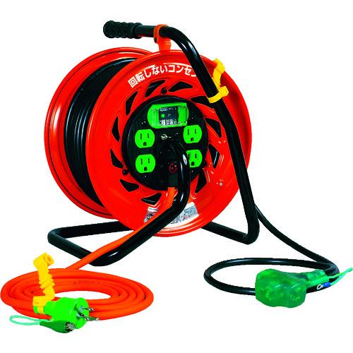 日動 マジックびっくリール アース漏電遮断器付き30m [RZ-EB30S] RZEB30S 販売単位:1 送料無料