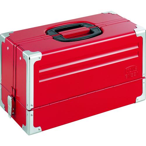 TONE ツールケース(メタル) V形3段式 433X220X240mm [BX331] BX331 販売単位:1 送料無料