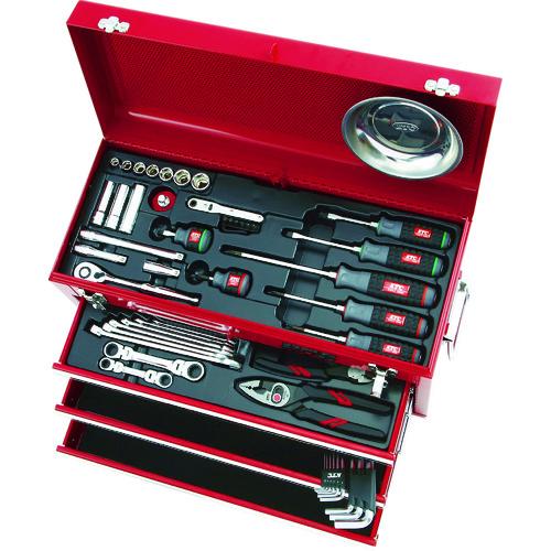 京都機械工具 最安値 株 手作業工具 工具セット チェストタイプ KTC 送料無料 2285 整備用工具セット 販売単位:1 KTC 人気 おすすめ SK3567X