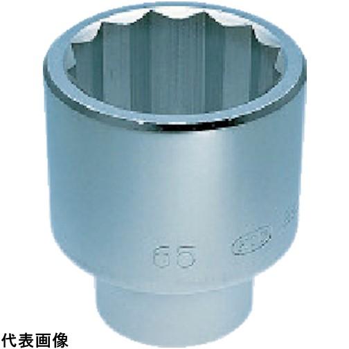 KTC 25.4sq.ソケット(十二角)65mm [B50-65] B5065 販売単位:1 送料無料