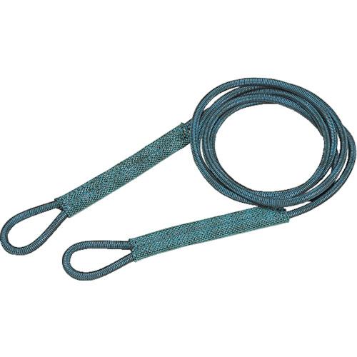 TRUSCO トラスコ中山 セフティパワーロープ シンブルなし 9mmX5m [SP-95] SP95 販売単位:1 送料無料