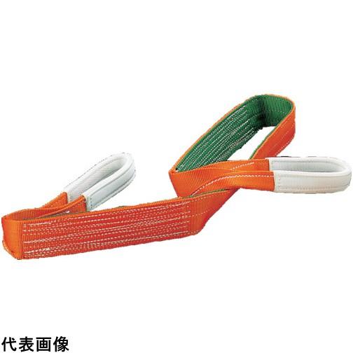 トラスコ中山 株 荷役用品 買取 吊りクランプ スリング 荷締機 ベルトスリング TRUSCO G100-50 送料無料 TRUSCO G10050 オンラインショップ 販売単位:1 JIS3等級 3100 両端アイ形 100mmX5.0m