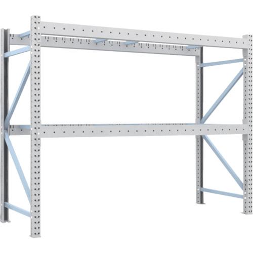 TRUSCO トラスコ中山 重量パレット棚1トン2500×900×H2000単体 2段 [1D-20B25-09-2] 1D20B25092 販売単位:1 運賃別途