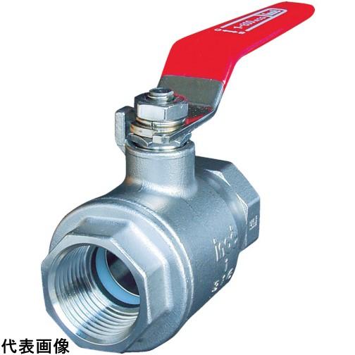 イノック ねじ込みボールバルブ 全長98mm 呼び径(A)32 [316SFVM32A] 316SFVM32A 販売単位:1 送料無料
