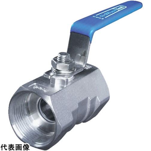 イノック ねじ込みボールバルブ 全長100.0mm 呼び径(A)50 [304SRV50A] 304SRV50A 販売単位:1 送料無料