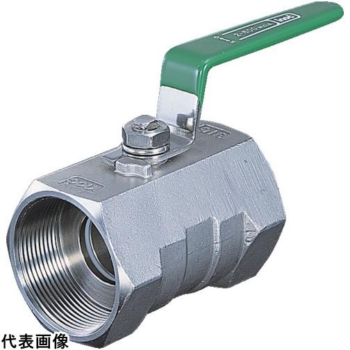 イノック ねじ込みボールバルブ 全長100.0mm 呼び径(A)50 [316SRVM50A] 316SRVM50A 販売単位:1 送料無料