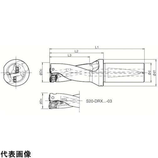 京セラ ドリル用ホルダ  [S25-DRX260M-2-07] S25DRX260M207 1個販売 送料無料