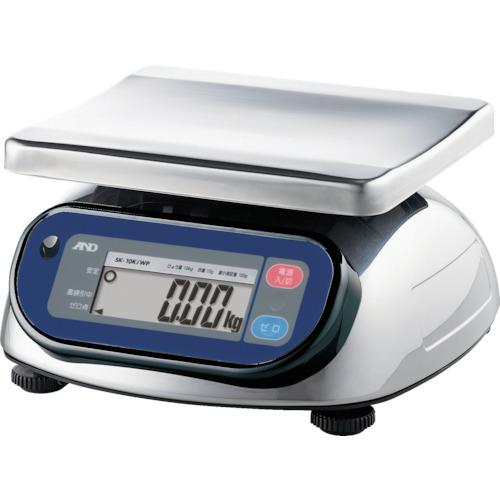A&D 防塵防水デジタルはかり(検定付) [SK10KIWP] SK10KIWP 販売単位:1 送料無料