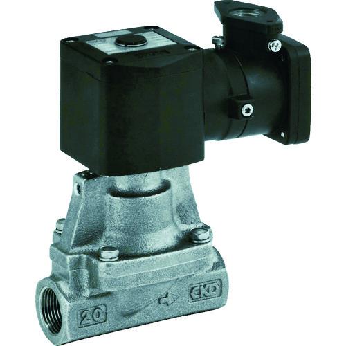 販売単位:1 ADシリーズ(蒸気用) CKD [AP11E2-15A-C4T-AC100V] AP11E215AC4TAC100V 送料無料 パイロット式 防爆形2ポート弁