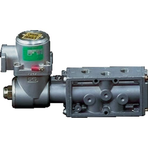 CKD パイロット式 防爆形5ポート弁 4Fシリーズ(ダブルソレノイド) [4F320E-08-TP-AC100V] 4F320E08TPAC100V 販売単位:1 送料無料