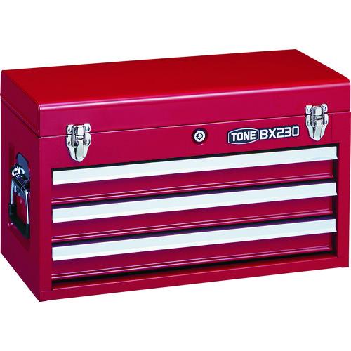 TONE ツールチェスト 508X232X302mm [BX230] BX230 販売単位:1 送料無料