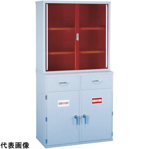 新光 塩ビ薬品庫EY-900上段 [EY-900A] EY900A 販売単位:1 運賃別途