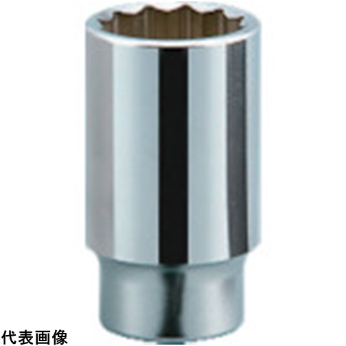 KTC 19.0sq.ディープソケット(十二角) 53mm [B45-53] B4553 販売単位:1 送料無料