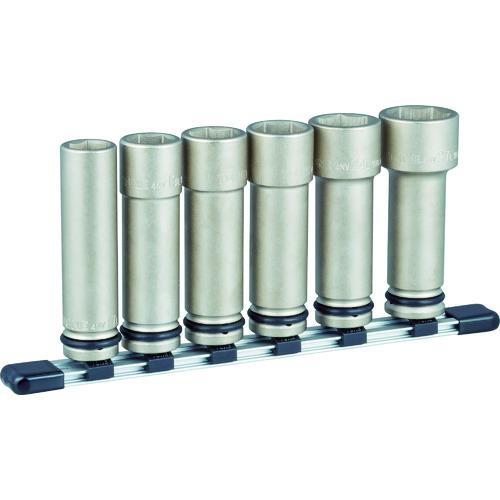TONE インパクト用超ロングソケットセット(ホルダー付) 6pcs [HNV406LL] HNV406LL 販売単位:1 送料無料