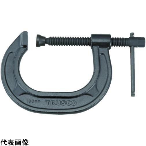 TRUSCO トラスコ中山 C型シャコ万力 150mm [TCC-150N] TCC150N 販売単位:1 送料無料
