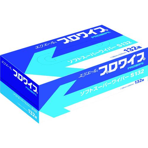 エリエール エリエールプロワイプソフトスーパーワイパーS132BOX36個入 [703130] 703130 販売単位:1 送料無料