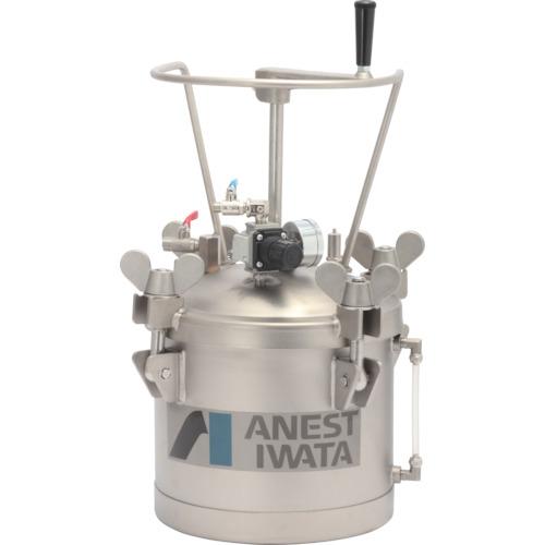 アネスト岩田 ステンレス加圧タンク 手動攪拌器付仕様 10L [COT-10HL] COT10HL 販売単位:1 運賃別途