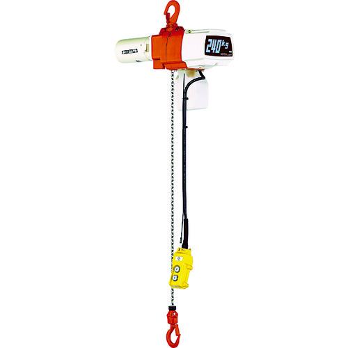キトー セレクト電気チェーンブロック2速 単相200V240kg(ST)x3m [EDX24ST] EDX24ST 販売単位:1 送料無料