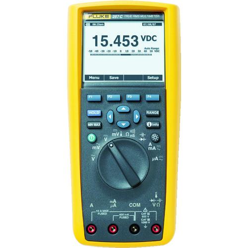FLUKE デジタルマルチメーター287(真の実効値トレンド・キャプチャー付) [287] 287 販売単位:1 送料無料
