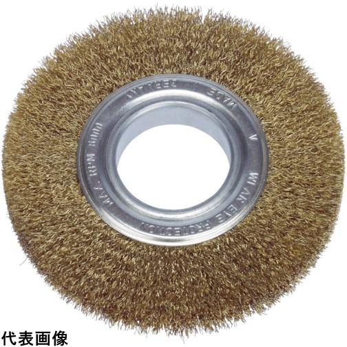 LESSMANN ホイルブラシ 200mm 0.2 真鍮線 [366543] 366543 販売単位:1 送料無料