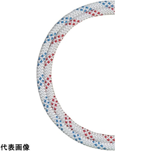 BlueWater セイフライン 12.7φ×91m 白/青 [534830WHBL] 534830WHBL 販売単位:1 送料無料