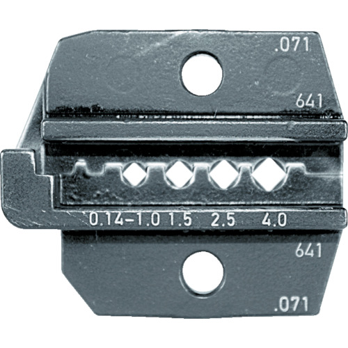 RENNSTEIG 圧着ダイス 624-071 コネクターコンタクト0.14-4 [624-071-3-0] 62407130 販売単位:1 送料無料