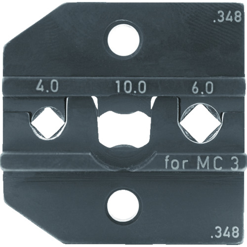 RENNSTEIG 圧着ダイス 624-348 MC3 4.0-6.0 [624-348-3-0] 62434830 販売単位:1 送料無料