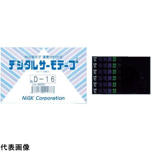 日油技研 デジタルサーモテープ 可逆性 [D-06] D06 販売単位:1 送料無料
