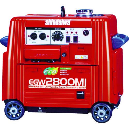 新ダイワ エンジン溶接機・兼発電機 135A [EGW2800MI] EGW2800MI 販売単位:1 送料無料