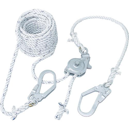 ツヨロン 水平親綱緊張器付GCハリップ10m [GCH-10-BX] GCH10BX 販売単位:1 送料無料