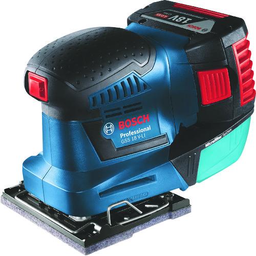 ボッシュ バッテリー吸塵オービタルサンダー [GSS18V-LIH] GSS18VLIH 販売単位:1 送料無料
