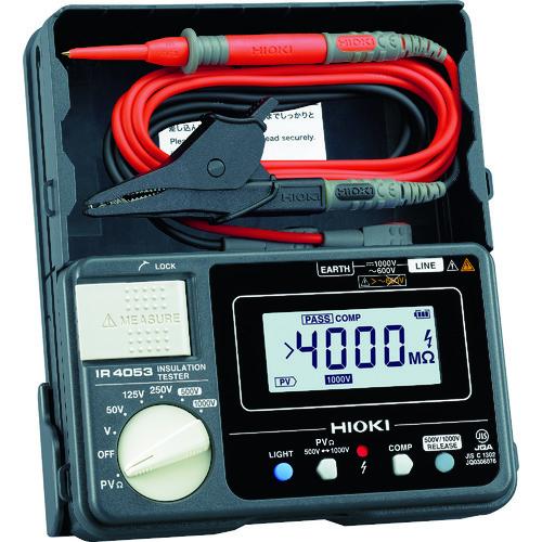 HIOKI 太陽光発電システム用絶縁抵抗計IR4053-10 [IR4053-10] IR405310 販売単位:1 送料無料
