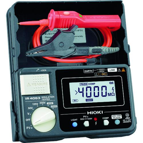 HIOKI 太陽光発電システム用絶縁抵抗計IR4053-11 [IR4053-11] IR405311 販売単位:1 送料無料