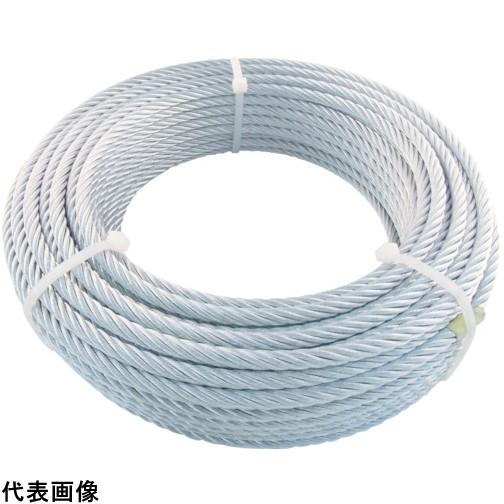 TRUSCO トラスコ中山 JIS規格品メッキ付ワイヤロープ (6X24)Φ9mmX50m [JWM-9S50] JWM9S50 販売単位:1 送料無料
