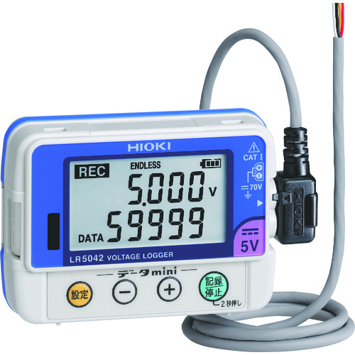 HIOKI 電圧ロガー LR5042 [LR5042] LR5042 販売単位:1 送料無料