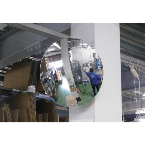 コミー 丸ミラー600mm [MF60] MF60 販売単位:1 送料無料