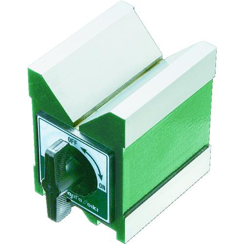 SK マグネット付Vブロック [MV-80G] MV80G 販売単位:1 送料無料