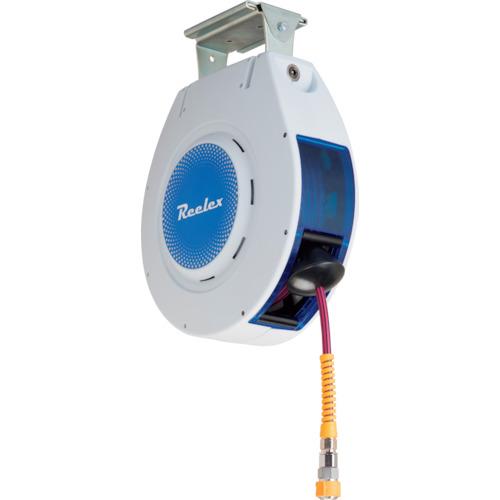 Reelex 自動巻きエアーリール リーレックス エアーS (難燃性ホース) [NAR-810WGR] NAR810WGR 販売単位:1 送料無料