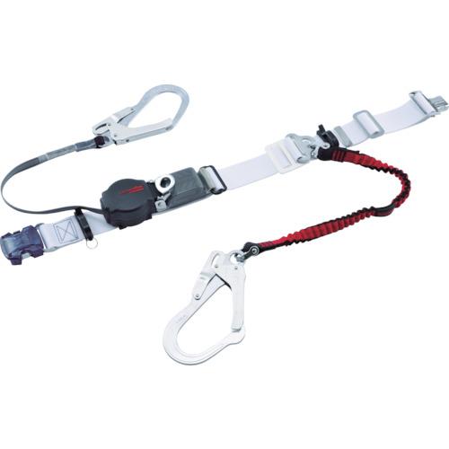 ツヨロン なでしこツイン安全帯OT式 ワンハンドリトラ・ノビロン 白色 SS寸 [ORL-2-OT93-NVRE-W-SS-BP] ORL2OT93NVREWSSBP 販売単位:1 送料無料