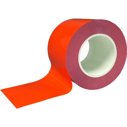 株 海外限定 ニトムズ 梱包用品 テープ用品 ラインテープ 耐久ラインテープDLT-NEO100x50橙 送料無料 ストア 5042 Y6080 販売単位:1