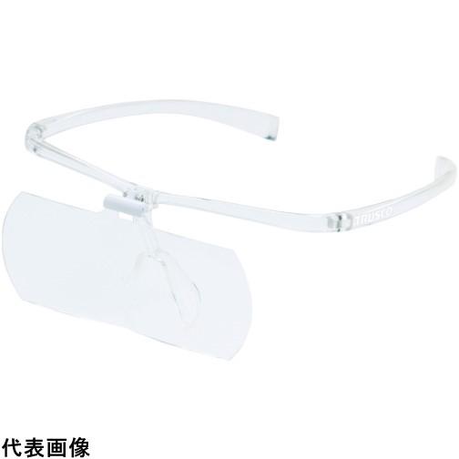 TRUSCO トラスコ中山 双眼メガネルーペ1.6/2/2.3倍セット フレーム透明 [TSM-SET-TM] TSMSETTM 販売単位:1 送料無料