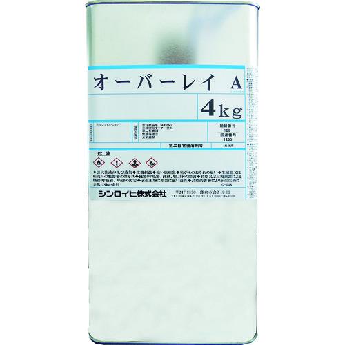 シンロイヒ オーバーレイA 4kg クリヤー [2000T4] 2000T4 販売単位:1 送料無料