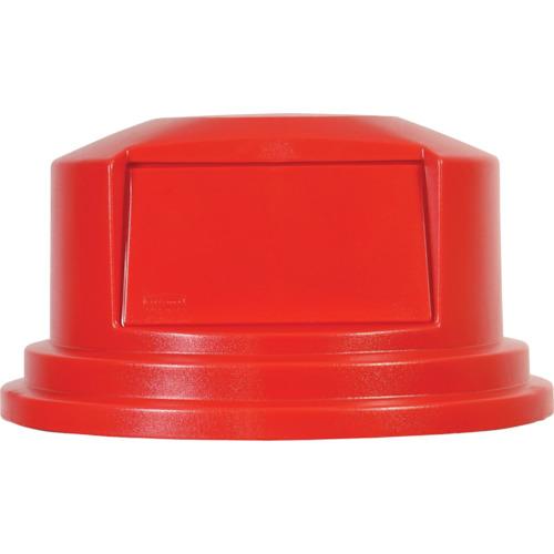ラバーメイド ラウンドブルートコンテナ用フタ ドーム型 208.2L用 レッド [26578805] 26578805 販売単位:1 送料無料